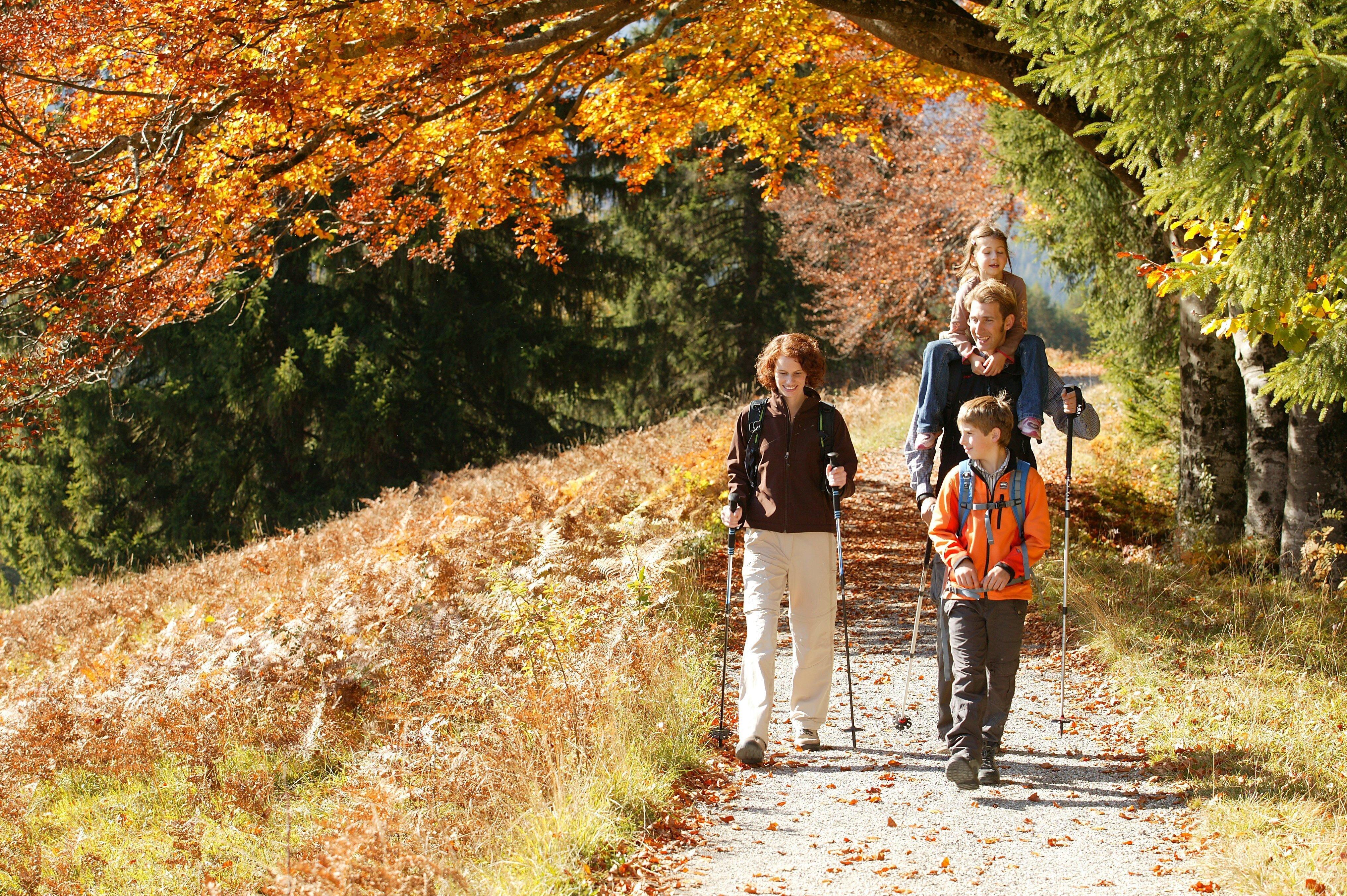 Herbstzeit = Wanderzeit